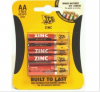 Pack of 4 JCB AA batteries (Code 4023)